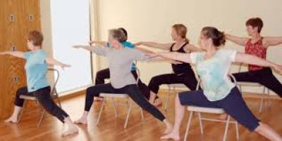 adult chair yoga  town of exeter new hampshire official