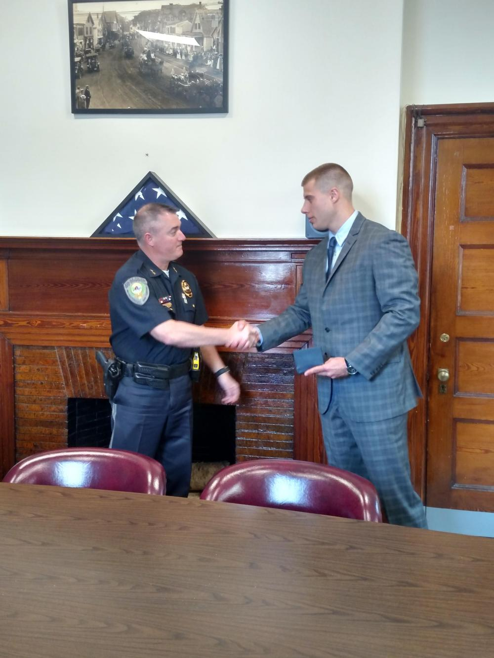 Exeter Police Department Welcomes New Officer Town Of