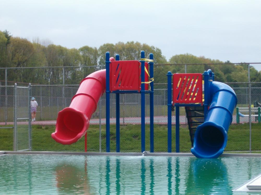 Outdoor pool with slide Modern Pool Town Of Exeter Nh Daniel Healy Outdoor Pool Town Of Exeter New Hampshire Official
