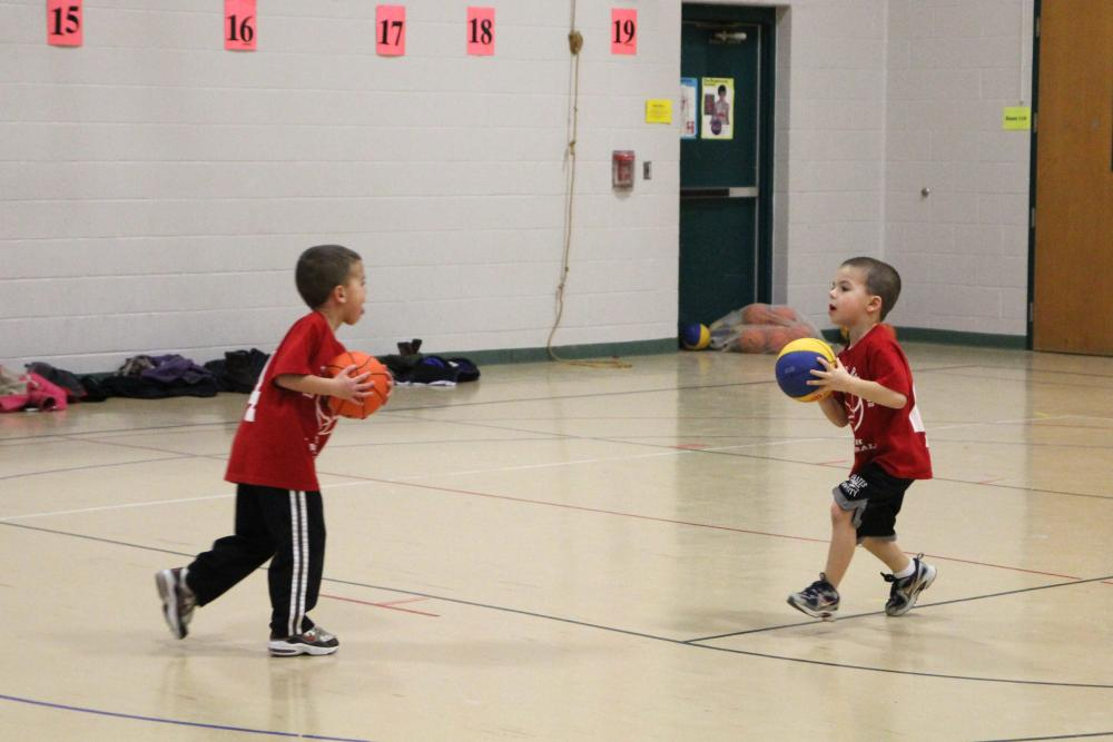 Little Shooters Pre K Basketball Town Of Exeter New Hampshire
